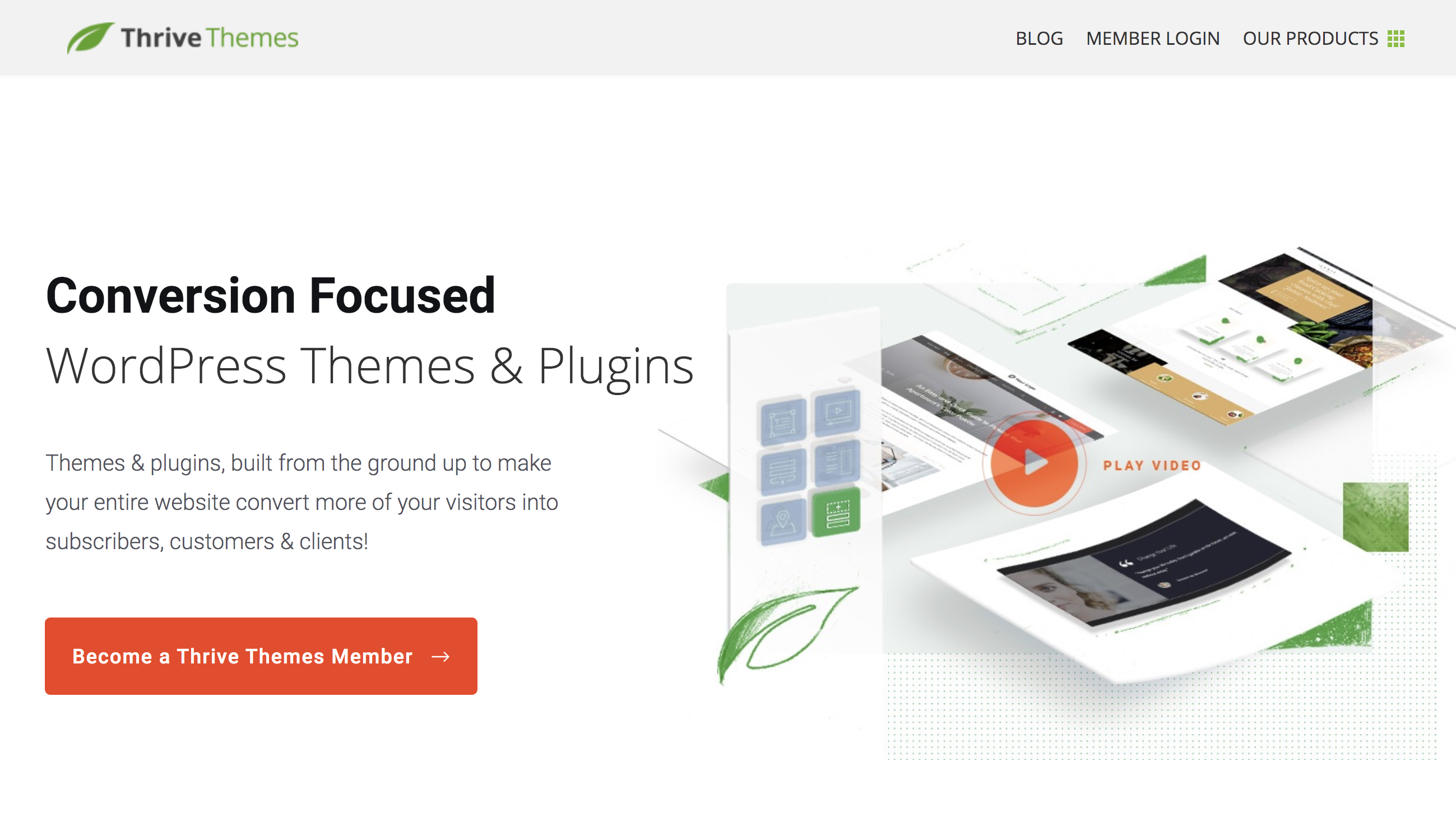 Thrive Themes Review – Conversion Focused WordPress Themes