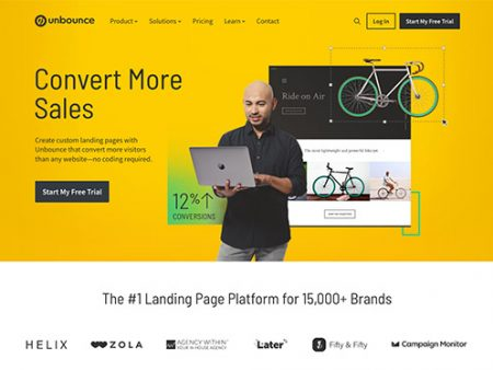 Unbounce Review and Pricing – Build and Test Custom Landing Pages